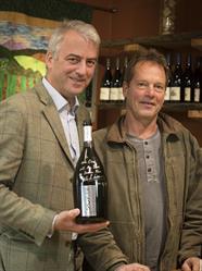 Gilles de Larouziere & Mike Etzel. Photo credit: Doreen L Wynja