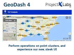 GeoDash 4 new UI and Cluster Operations