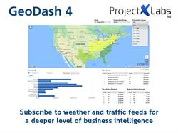 Project X Labs new weather and traffic feeds