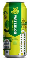 New Waterloo Citrus Radler, just in time for the warmer seasons