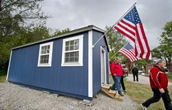 VCP Builds Tiny Houses for Vets