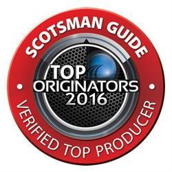 Eli Weissman is ranked #1 Top original by FHA volume in New York by Scotsman in 2016