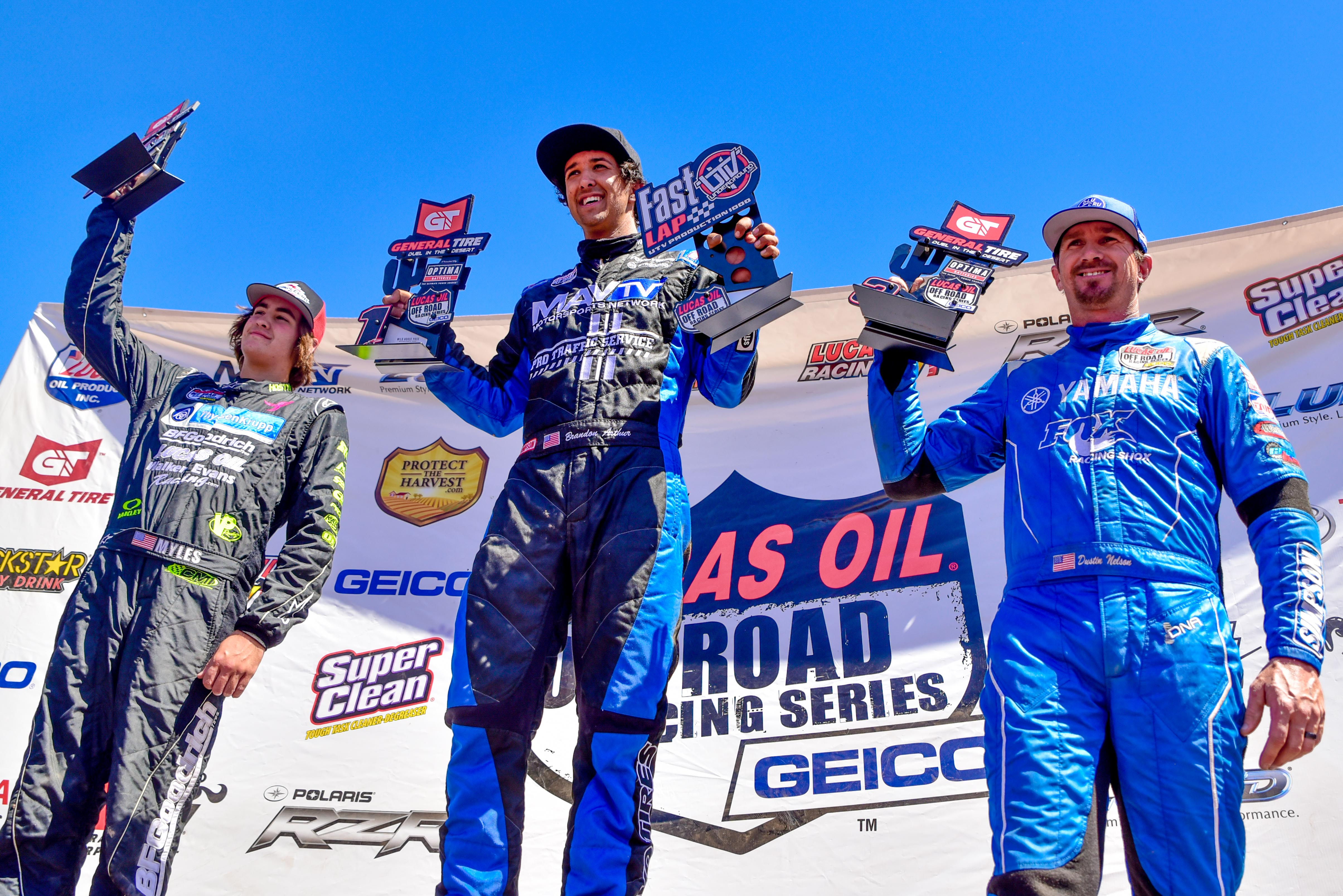 Lucas Oil Off-Road National Racing Series Round One Winners