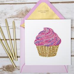 Papyrus Judith Leiber Cupcake Greeting Card