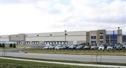 Outside of building of the new facility in Louisville, Kentucky.
