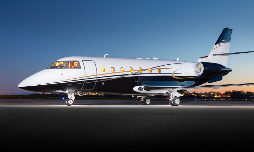 Silver Air G200 in Dallas