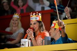 Treat mom like a queen this Mother's Day. Mom is free at Medieval Times.