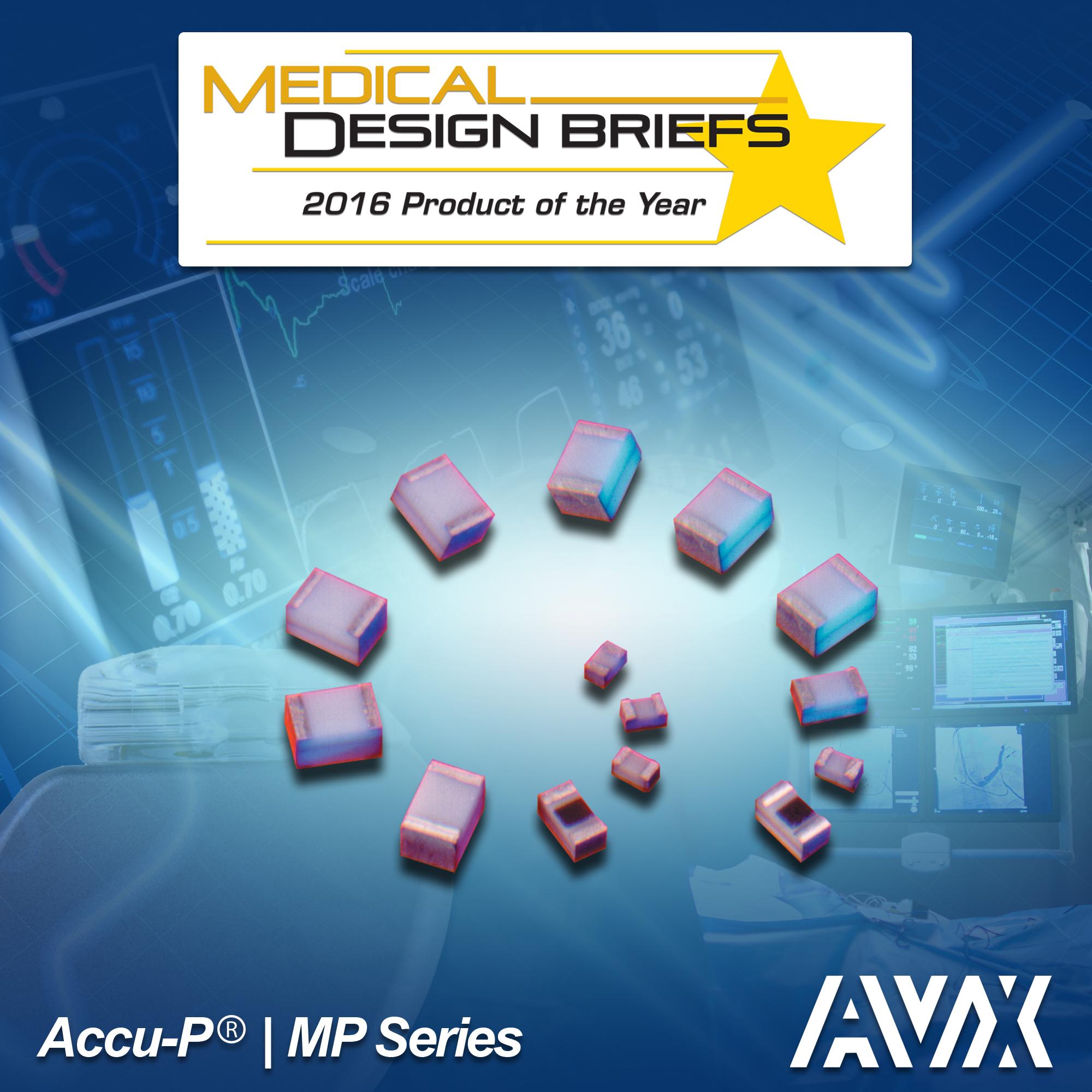 Avx Wins Medical Design Briefs 2016 Readers Choice