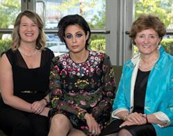 Pictured left to right is Rachel Mockler (winner WLF Debra Van Ginkel, QC Mentoring Award), Marie Henein of Henein Hutchison LLP and Linda K. Robertson (winner WLF Award of Excellence)