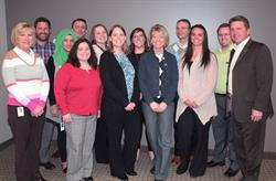 TruStone Financial employee volunteers taught Junior Achievement curriculum at Birchview Elementary.
