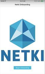 Netki Digital ID onboarding start