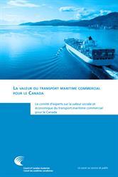 La valeur du transport maritime commercial pour le Canada