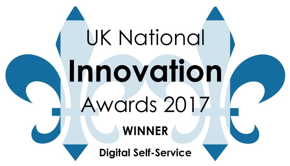 UK National Innovation Awards 2017 Winner