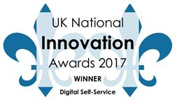UK National Innovation Awards 2017 Winner