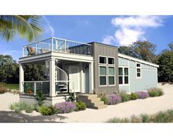 Michigan Manufactured Housing Association member Champion Home Builder's award-winning vacation home, the Vista.