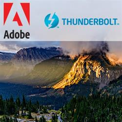 Adobe and Thunderbolt at B&H Photo