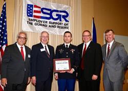 Signature Performance Accepts Nebraska ESGR Award