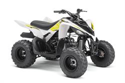 2018 Yamaha Raptor 90 White