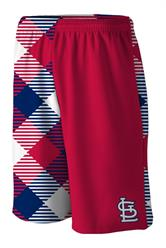Cardinals Microwave Red Gym Short