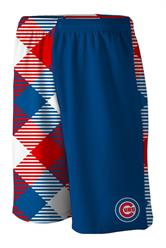Cubs Microwave Blue Gym Short