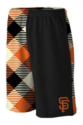 Giants Microwave Black Gym Short