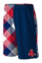 Red Sox Microwave Blue Gym Short