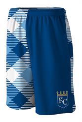 Royals Microwave Blue Gym Short