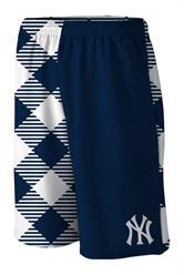 Yankees Microwave Blue Gym Short