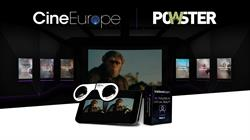 POWSTER, a Vista Group International company (NZX & ASX: VGL) and RealD team up for VR promotion at CineEurope.