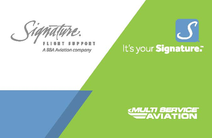 New Signature Flight Services card issued by EPIC