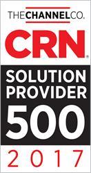 CRN 2017 Solution Provider 500