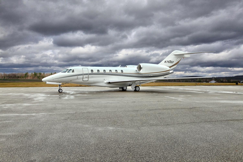 Silver Air Citation X in San Diego