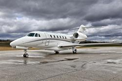 Silver Air Citation X based out of McClellan-Palomar Airport