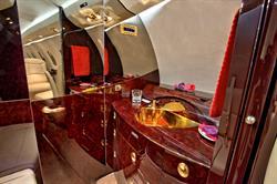 Silver Air Citation X Lavatory