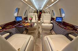 Silver Air Citation X