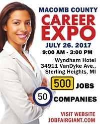 Michigan Career Expo - July 26