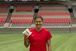 Christine Sinclair Burgers to Beat MS (c) A&W Food Services of Canada Inc.