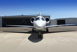 Silver Air Citation X - Front