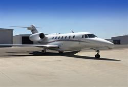 Silver Air Citation X Now Available for Charter