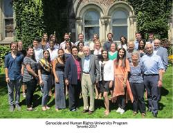 Genocide and Human Rights University Program 2017
