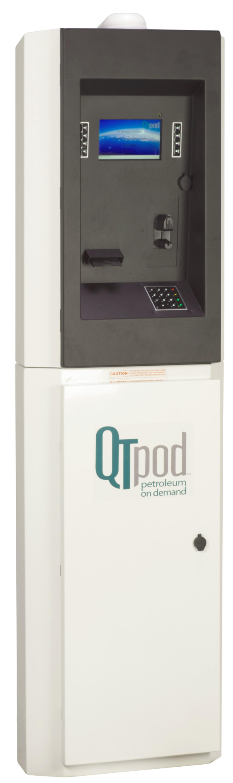QTpod M4000 next gen self-serve fueling terminal