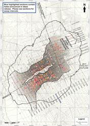 Ixtaca Drill Plan Map