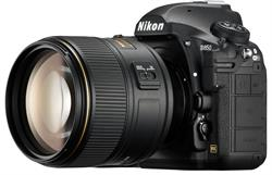 Nikon D850 Side View