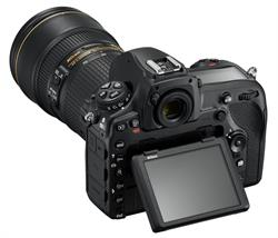 Nikon D850 with LCD Screen