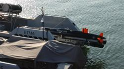 SeaCat SAS during initial testing on ARCIMS USV with Kraken MINSAS in June 2017