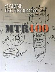 Cover image of 2017 Marine Technology Reporter magazine