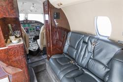 Silver Air Citation Excel Interior 2