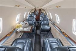 Silver Air Citation Excel Interior