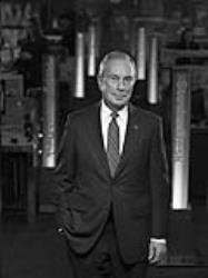 Michael R. Bloomberg, philanthropist, three-term Mayor of New York City and founder of Bloomberg LP