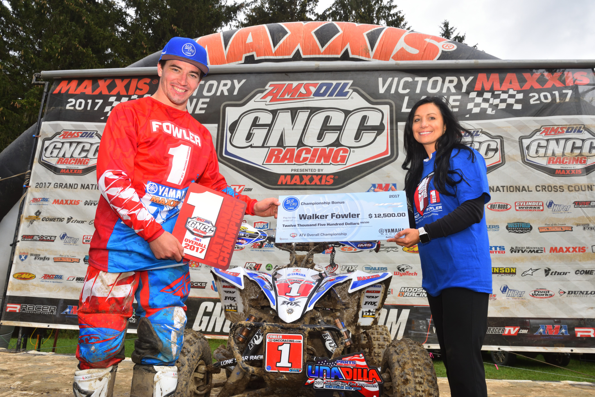 Yamaha's Walker Fowler Clinches GNCC Championship